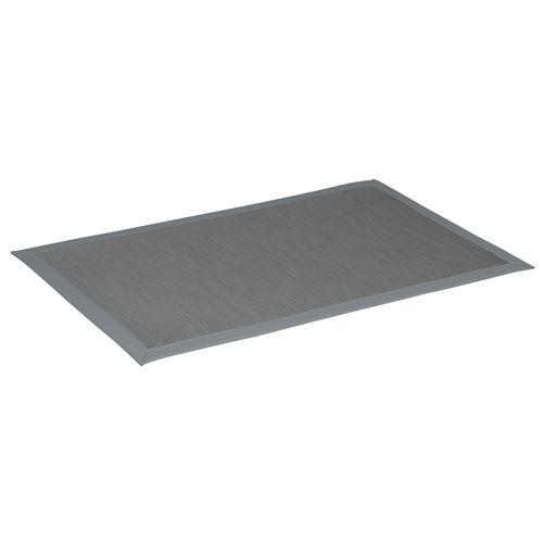 tappeto moderno / a tinta unita / in polipropilene / rettangolare