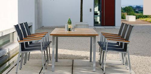 sedia da giardino moderna / impilabile / in Textilene®