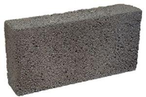 blocco di calcestruzzo leggero / pieno / per muro portante / per parete