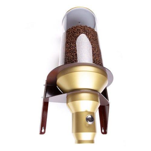 dispenser di caffè in chicchi da parete