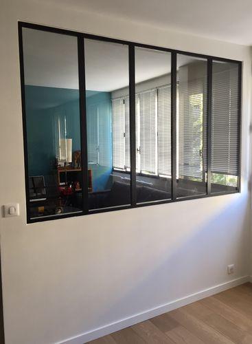 parete fissa / in metallo / in vetro / da ufficio