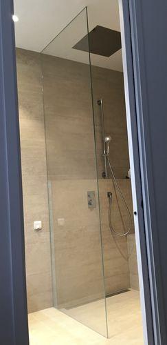 parete doccia fissa / a nicchia / in vetro