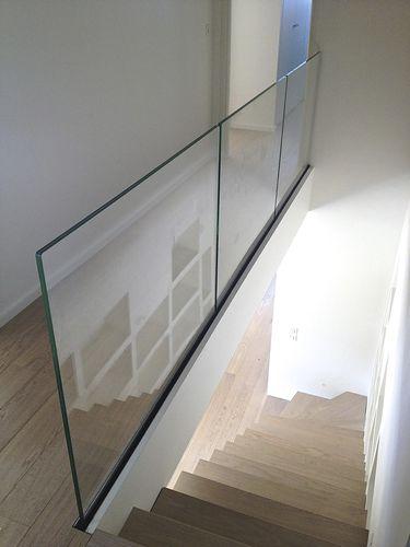 ringhiera in vetro / pannelli in vetro / da interno / da esterno