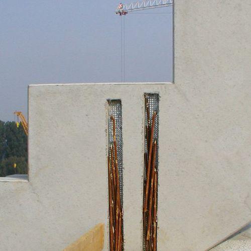ferro d'attesa per cemento armato