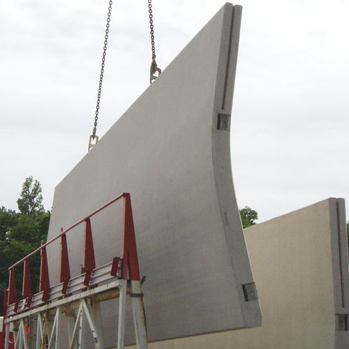 sistema di sollevamento per strutture in calcestruzzo