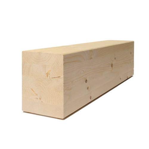 trave in legno lamellare / a sezione rettangolare