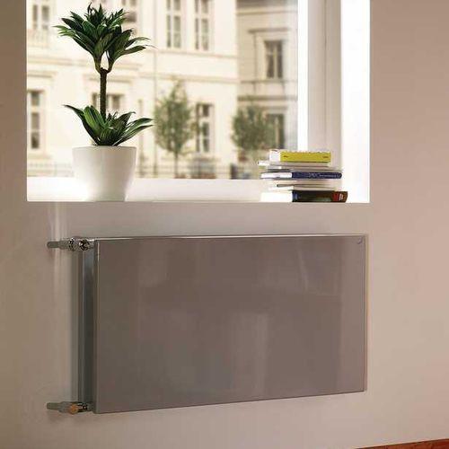 radiatore ad acqua calda / in acciaio / moderno / a pannello radiante