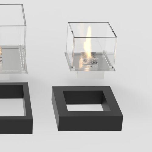 bruciatore a bioetanolo quadrato / moderno