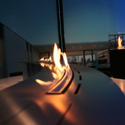 bruciatore a bioetanolo moderno / fatto su misura
