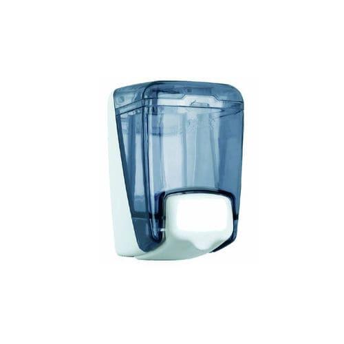 distributore di sapone contract / da parete / in policarbonato / manuale