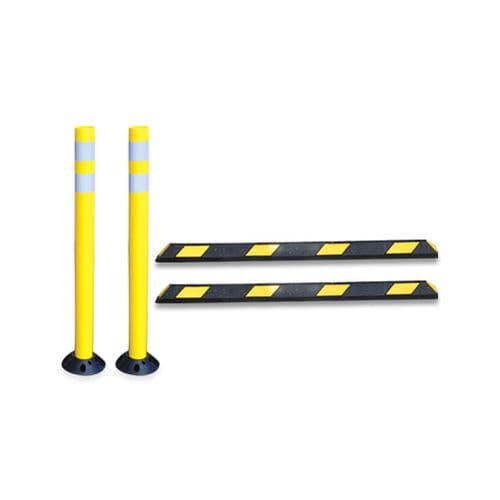 colonna di protezione / in plastica / fissa / per parcheggio