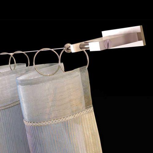 bastone per tende in acciaio inossidabile