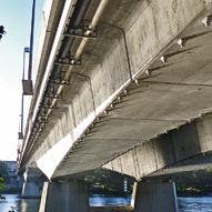 ponte ad arco / in cemento precompresso / prefabbricato