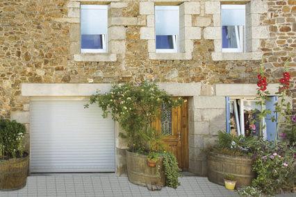 porta avvolgibile per garage / in alluminio / automatica