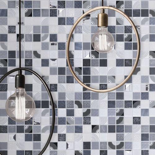 mosaico da interno / per piscina / da parete / in vetro