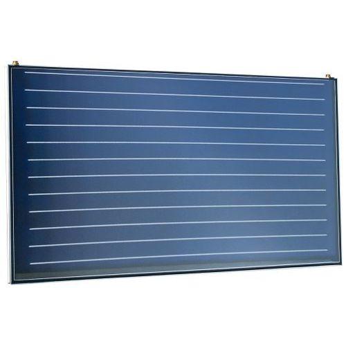 collettore solare termico piano / per scaldare l'acqua / isolante / con telaio in alluminio