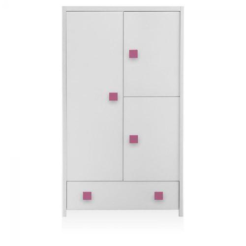armadio moderno / in legno / con ante battenti / per bimba