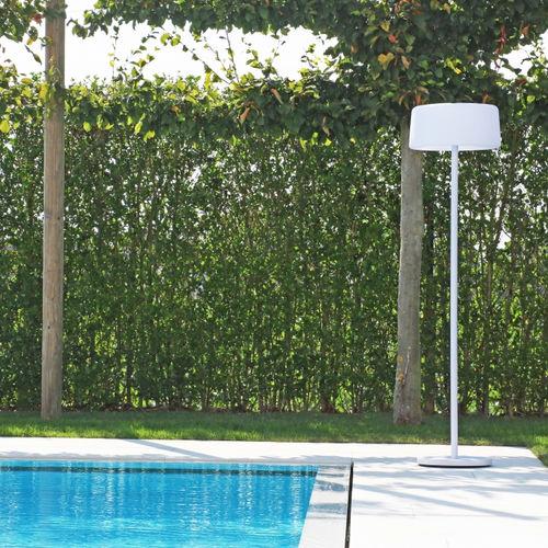 lampada da terra / moderna / in alluminio / da esterno