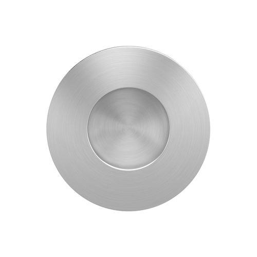 maniglia per porta scorrevole / in acciaio inox / moderna / finitura spazzolata