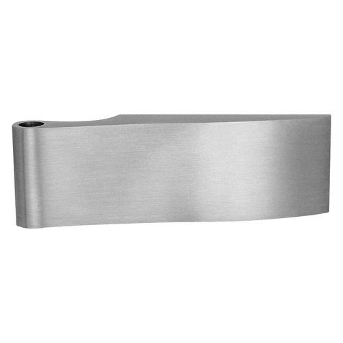 cerniera per porta a vetri / in acciaio inox