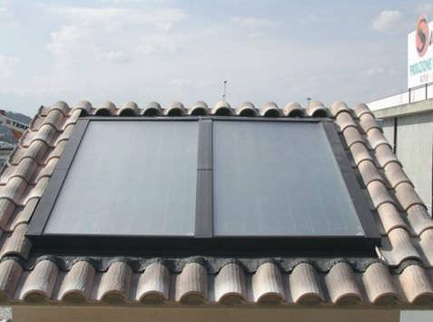 sistema di montaggio per tetto di tegole