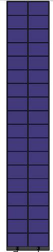 pannello fotovoltaico a film sottile / al silicio amorfo / per tetto