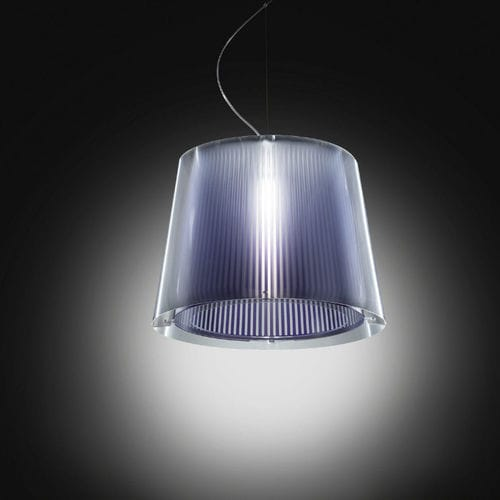 lampada a sospensione / moderna / in policarbonato / in Lentiflex®