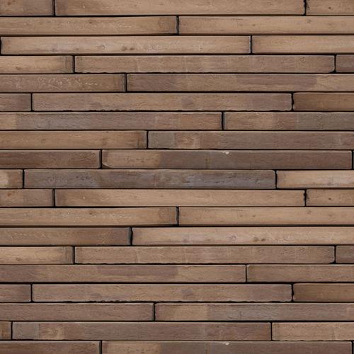 paramento in mattoni in laterizio / per facciata / liscio / marrone
