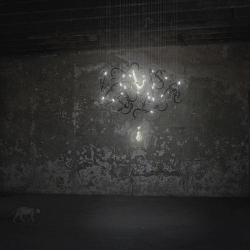 lampadario su misura / classico / in porcellana di Limoges / LED