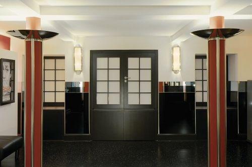 applique Art Deco / in vetro