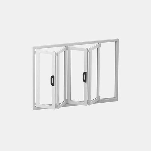 vetrata a libro / a doppi vetri / a tenuta stagna