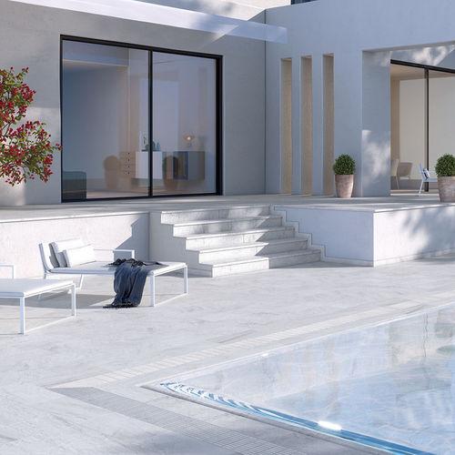 piastrella per bagnasciuga di piscina / per piscina / da pavimento / in ceramica
