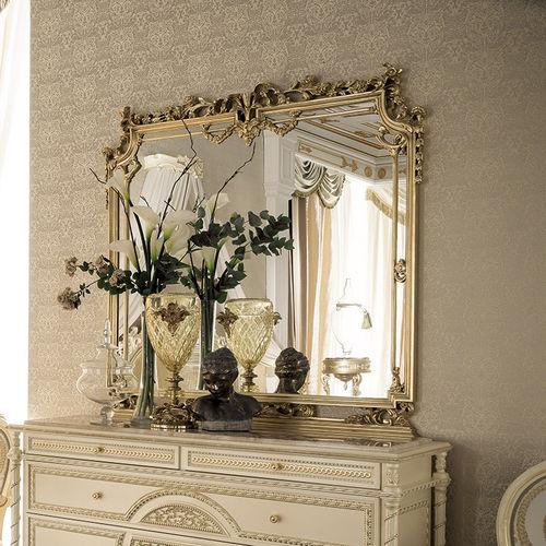specchio a muro / in stile / rettangolare / per hotel