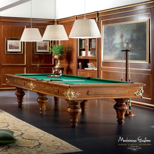 tavolo da biliardo in stile