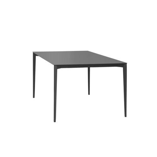 tavolo da pranzo moderno / in acciaio inossidabile / in HPL / in porcellana