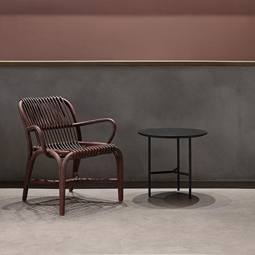 tavolo d'appoggio moderno / in quercia / in legno massiccio / in legno compensato