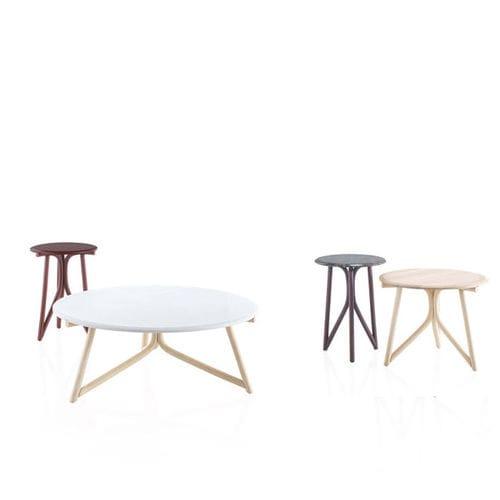 tavolino basso moderno / in legno massiccio / in rattan / in pietra naturale