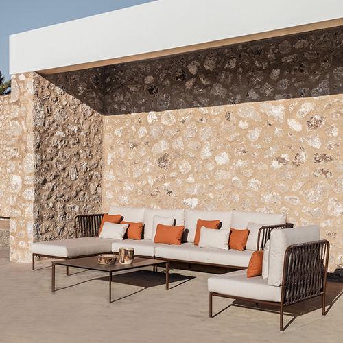 divano modulare / moderno / da giardino / in poliestere