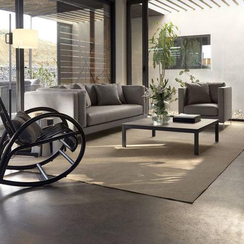 divano modulare / moderno / da giardino / in pelle