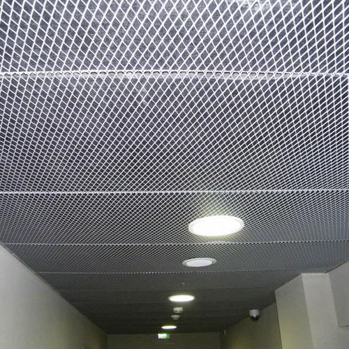controsoffitto in maglia metallica
