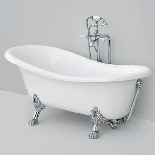vasca da bagno con piedi