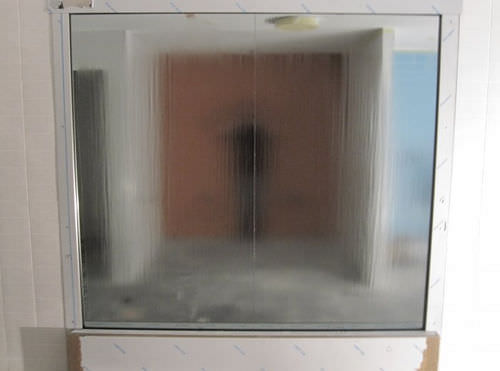 muro d'acqua in vetro / su misura
