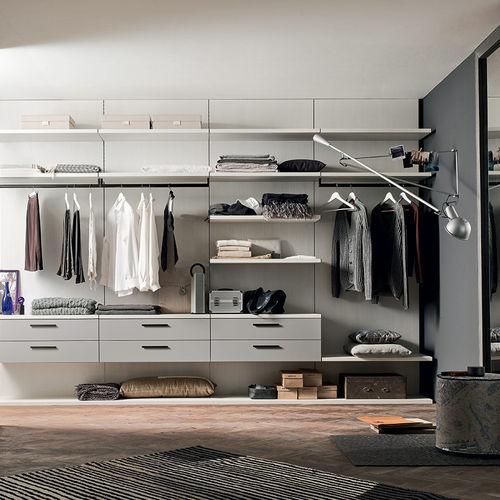 cabina armadio moderna / in legno laccato