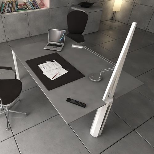 scrivania in calcestruzzo HUP Ductal© / design originale / contract