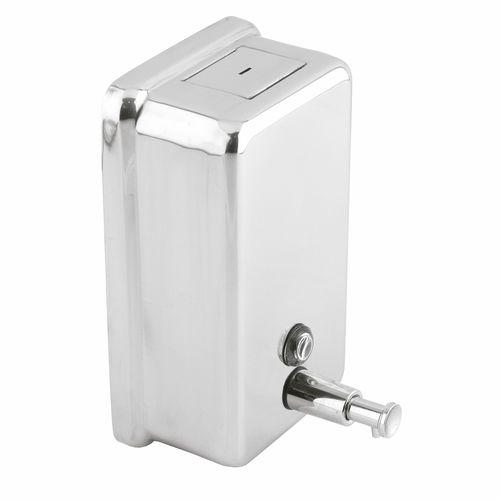 distributore di sapone contract / da parete / in ABS / in acciaio inossidabile