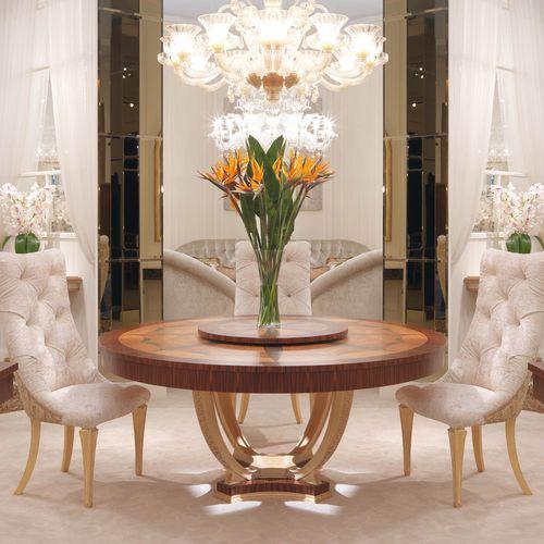 Tavolo in stile provenzale / in legno / tondo - FRATELLI ...