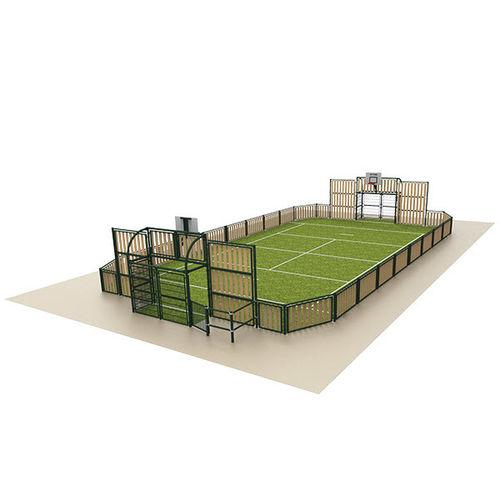 impianto sportivo polivalente per parco giochi