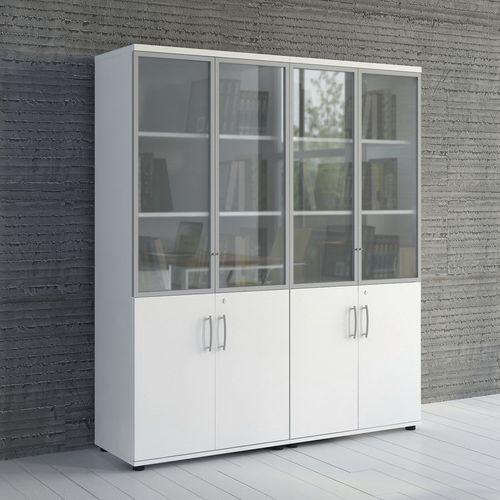 armadio classificatore basso / alto / in legno / in vetro