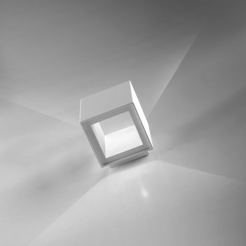 applique moderna / in alluminio / LED / bianca