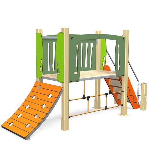 struttura ludica per enti locali / in legno / in alluminio